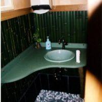 2005年 八王子 蕎麦屋 洗面台