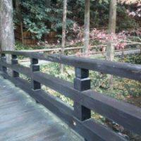 2013年 八王子 料亭 橋の束修理