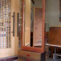 2006年 一点物作品 鏡台 表面