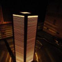 2009年 一点物作品 六角形組子ランプ