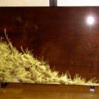 2008年 一点物作品 衝立 (塗装:波模様全艶仕上)