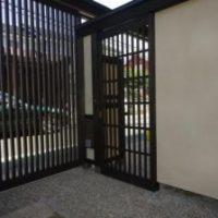 2012年 相原 K邸 門片引き戸