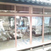 2017年 八王子 K邸 ガラス戸・欄間ガラス戸 工事