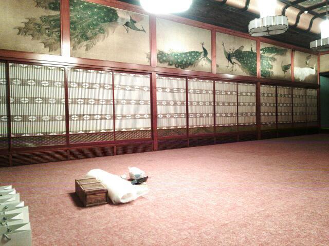 2017年 ホテル 雅叙園東京 竹林の間 建具修復工事